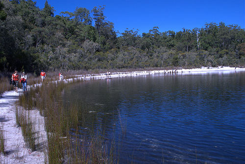 Fraser Island, Basin Lake