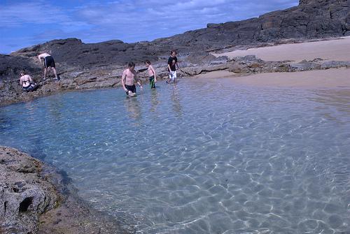 Fraser Island, Champagne Pool