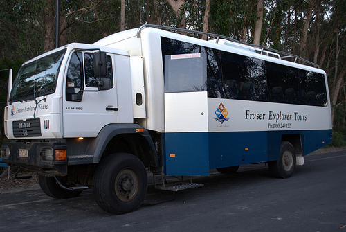 Fraser Island group tour 4WD