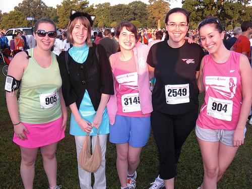 Charlottesville Womens 4 Miler 2009