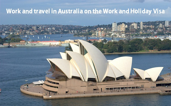 Live and travel in Austraia with the Work and Holiday Visa
