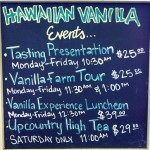 Vanilla Luncheon Experience with the Hawaiian Vanilla Company