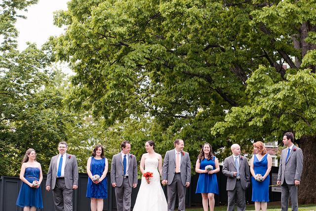 uva-orange-blue-wedding-party