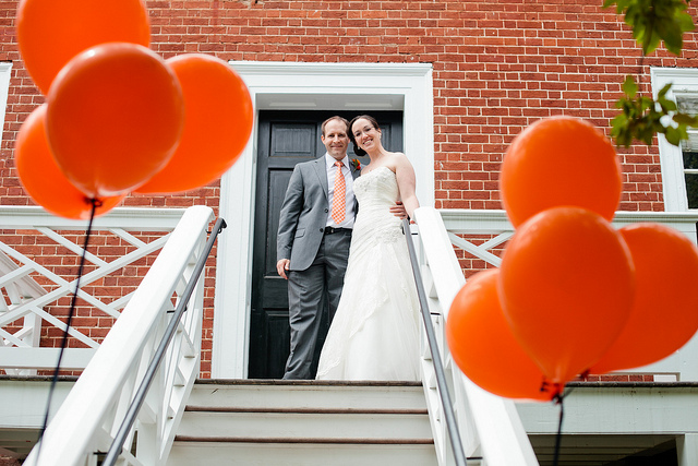 uva-wedding-orange-balloons