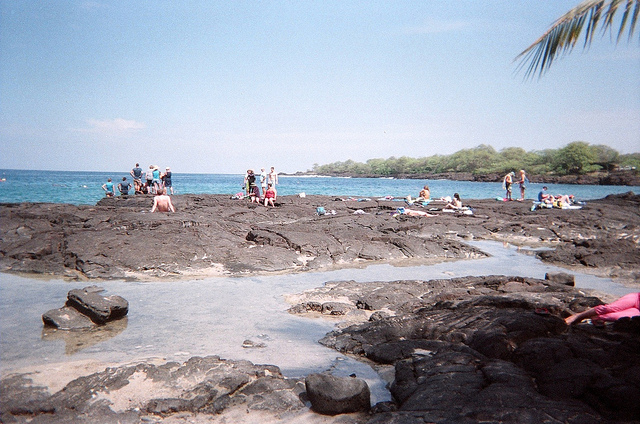 Two Steps Beach, Kona coast