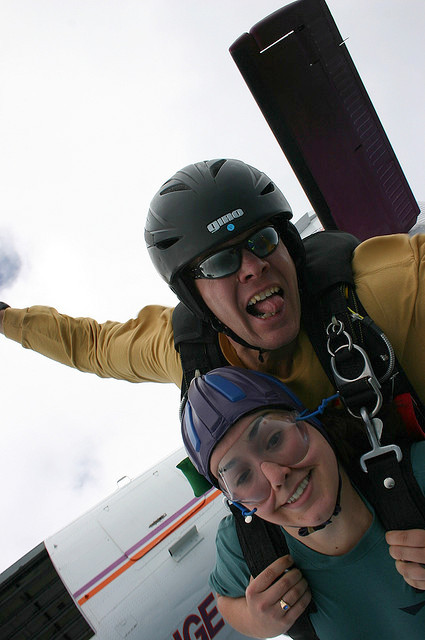 first tandem skydive