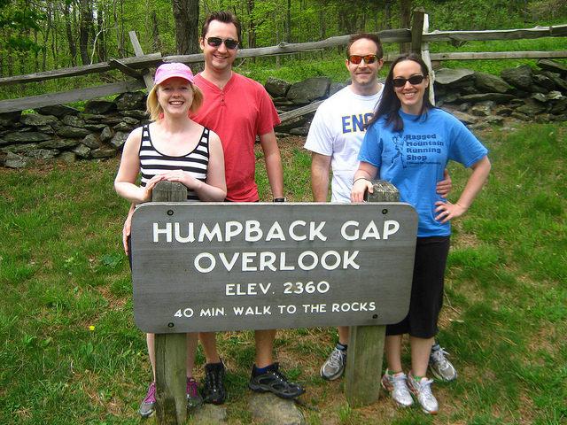Humpback Rocks in Virginia