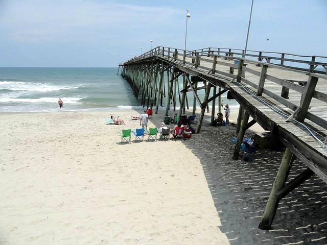 Kure Beach pier, Wilmington