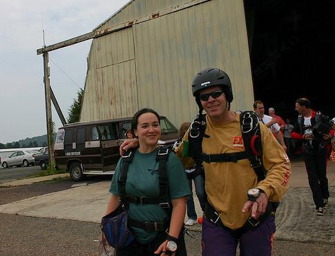 Skydiving jump master