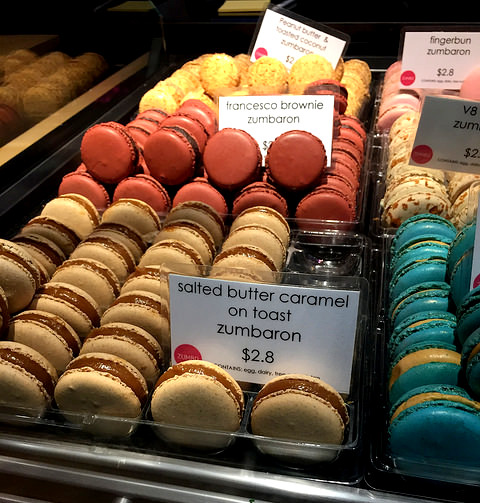 Adriano Zumbo macarons in Melbourne