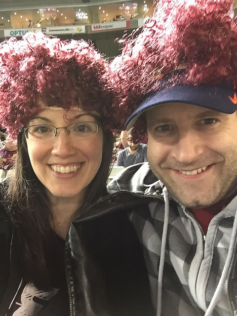 Queensland Maroons supporters bay at MCG